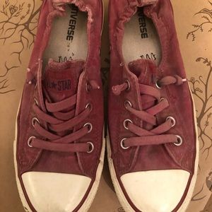 Converse All Star Chicks berry sneakers